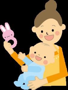 外国人シッターによる乳児ケア